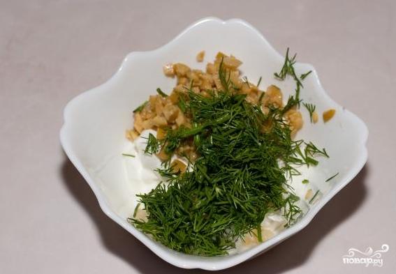 Чесночно-сметанный соус - фото шаг 6