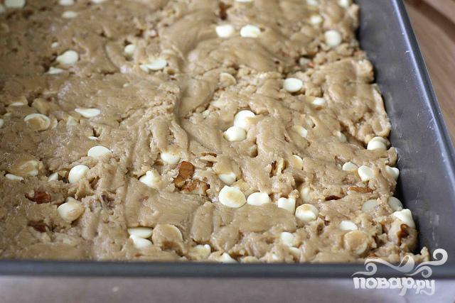 Ореховые пирожные со сливочным соусом - фото шаг 3