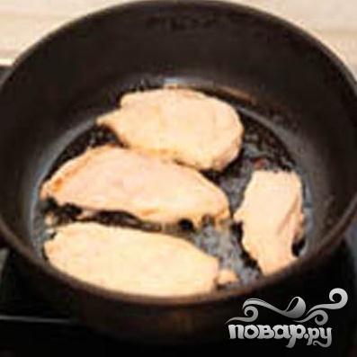 Курица в соусе Сен-Марселлен - фото шаг 1