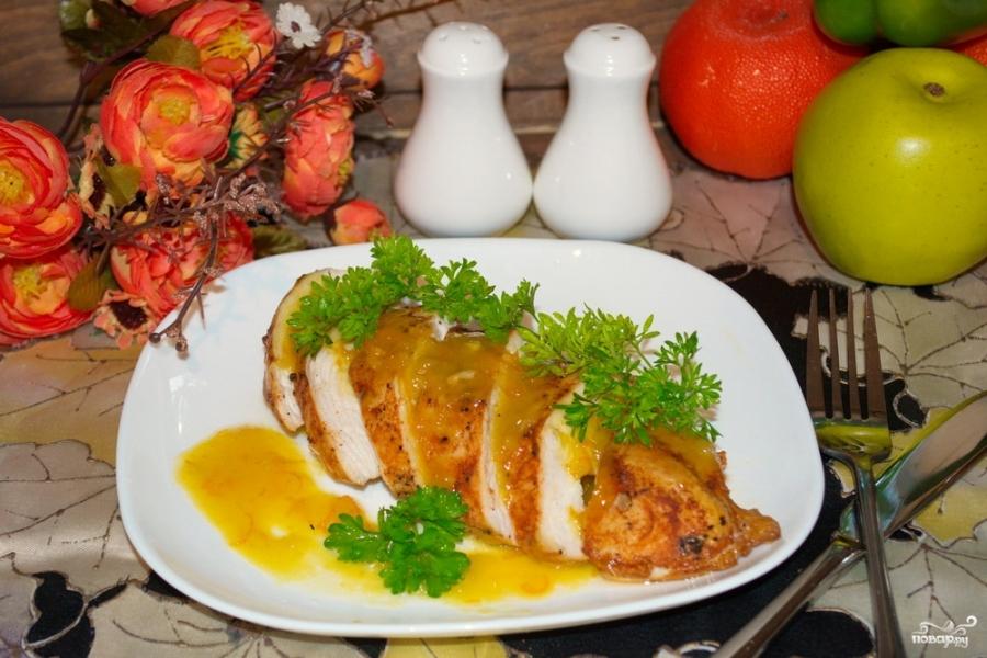 Курица под апельсиновым соусом - фото шаг 6