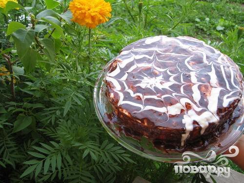 Рецепт Маковый торт с йогуртом и шоколадом
