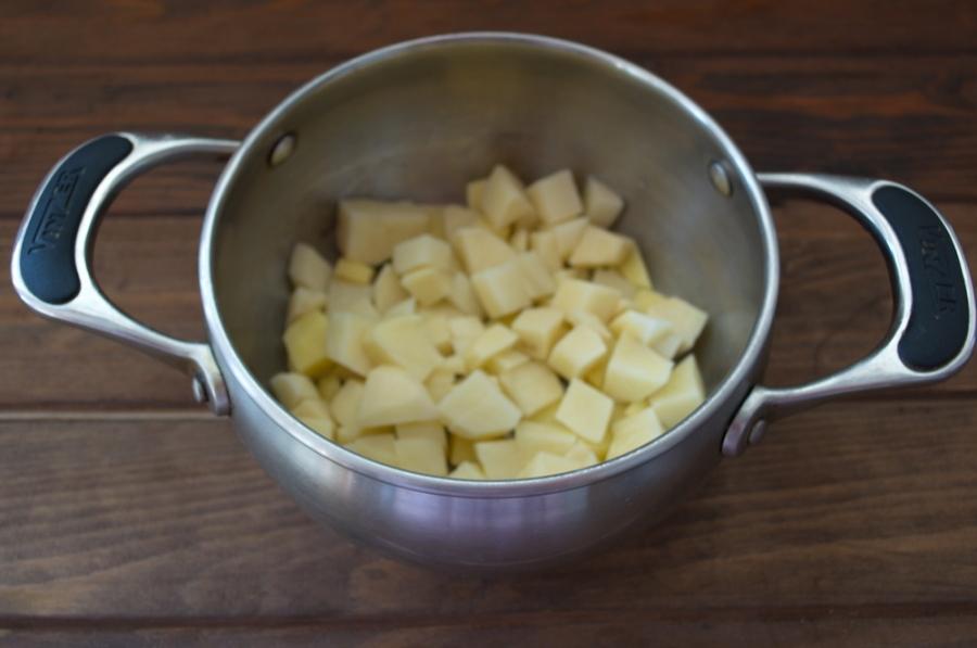 Диетический суп на курином бульоне - фото шаг 2