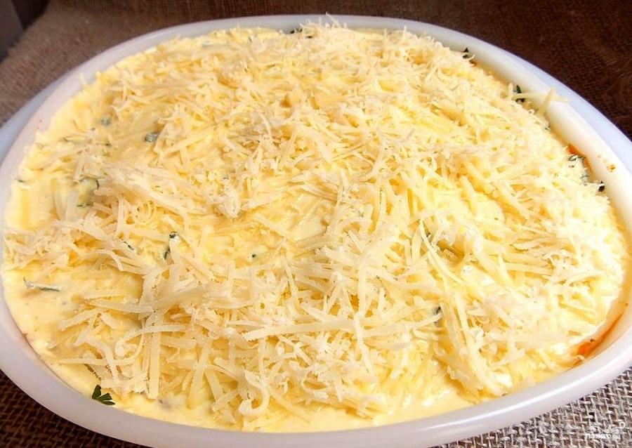 овощная лазанья с картошкой