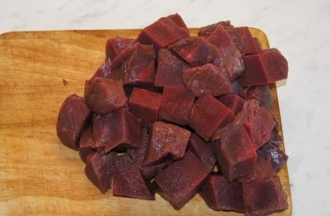 Рецепт Говядина в гранатовом соусе