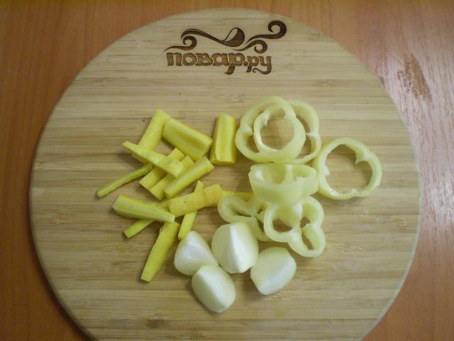 Курица с овощами на пару - фото шаг 3