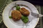 Вегетарианские котлеты из фасоли