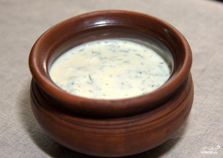 Сливочно-чесночный соус для курицы - фото шаг 4
