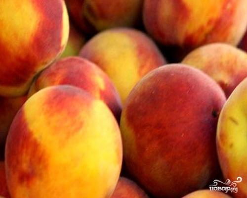 Компот из персиков на зиму - фото шаг 1