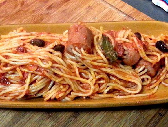 Соус для макарон с сосиской - фото шаг 3