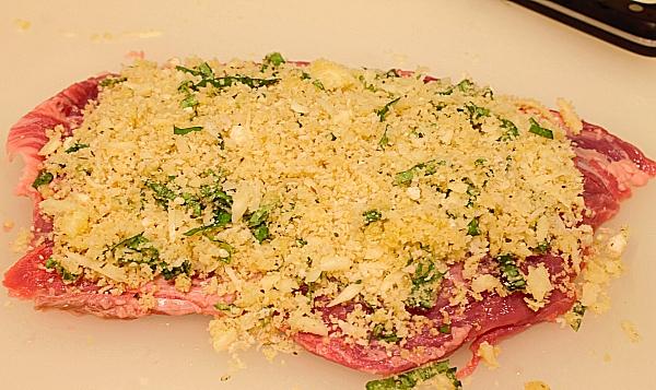 Мясо с базиликом в духовке - фото шаг 2