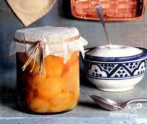 Рецепт Компот из алычи