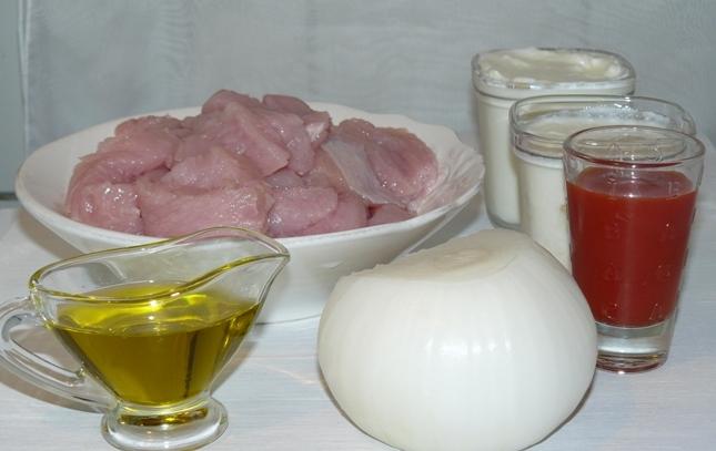 Рецепт Бефстроганов из индейки в мультиварке