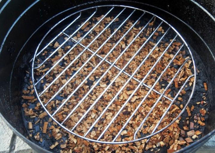 Скумбрия горячего копчения в коптильне - фото шаг 3