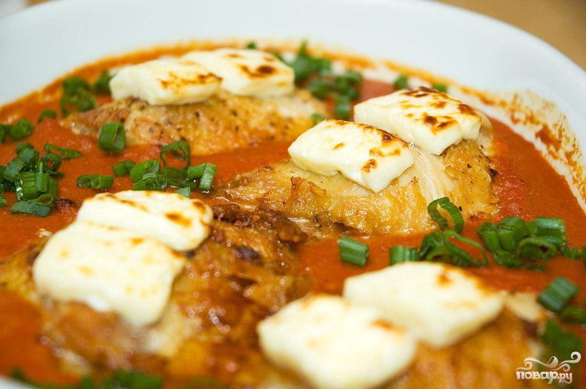 Рецепт Курица в остром соусе