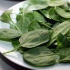 Рецепт Салат со шпинатом и помидорами черри