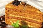 Медовый торт на скорую руку