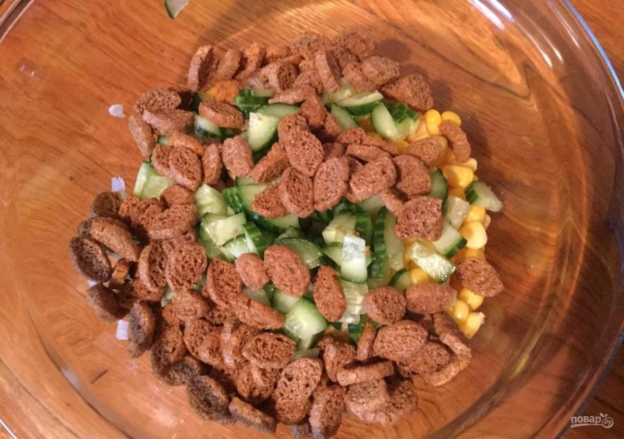 Салат вкусный и недорогой рецепт с фото