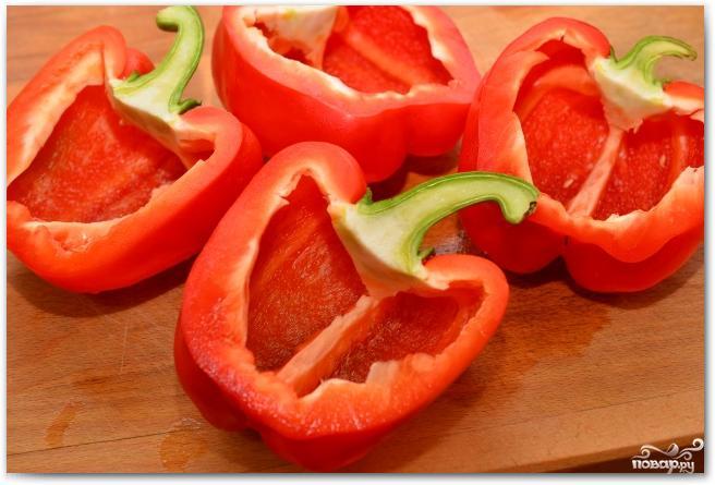 Фаршированные перцы и помидоры - фото шаг 5
