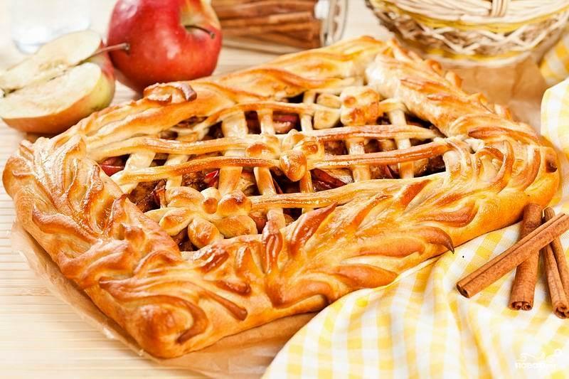 Тесто для пирога с яблоками