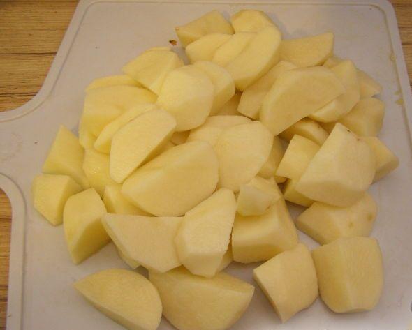 Рагу из кролика с картофелем - фото шаг 4