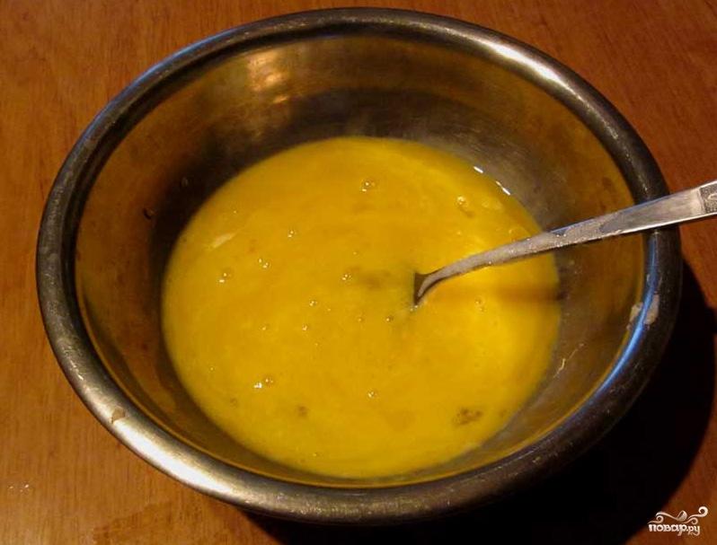 Бисквитное тесто с маслом - фото шаг 2