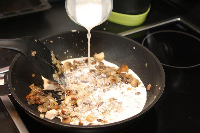 Каннеллони с грибами - фото шаг 12