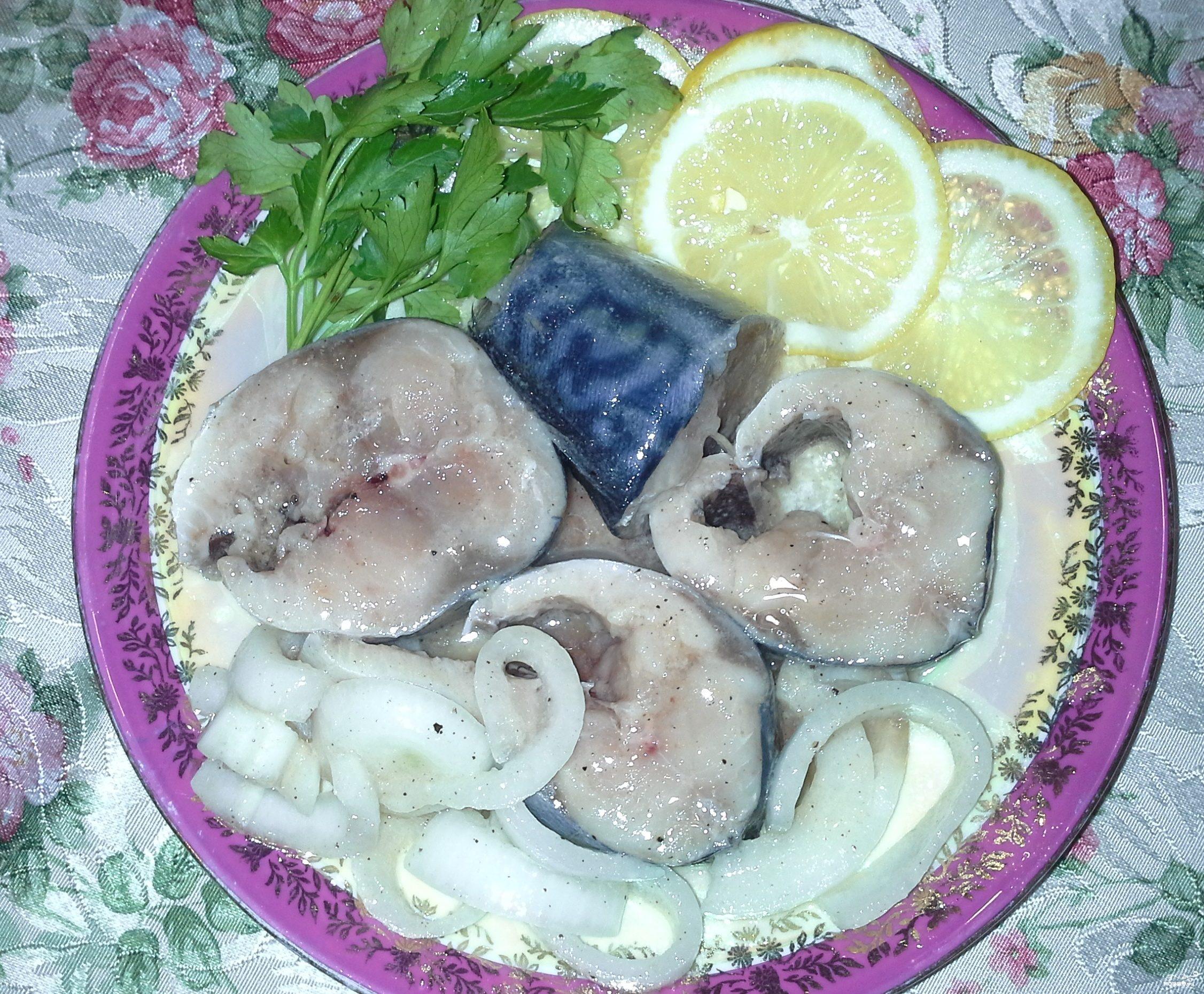 рыба скумбрия рецепты приготовления соленая