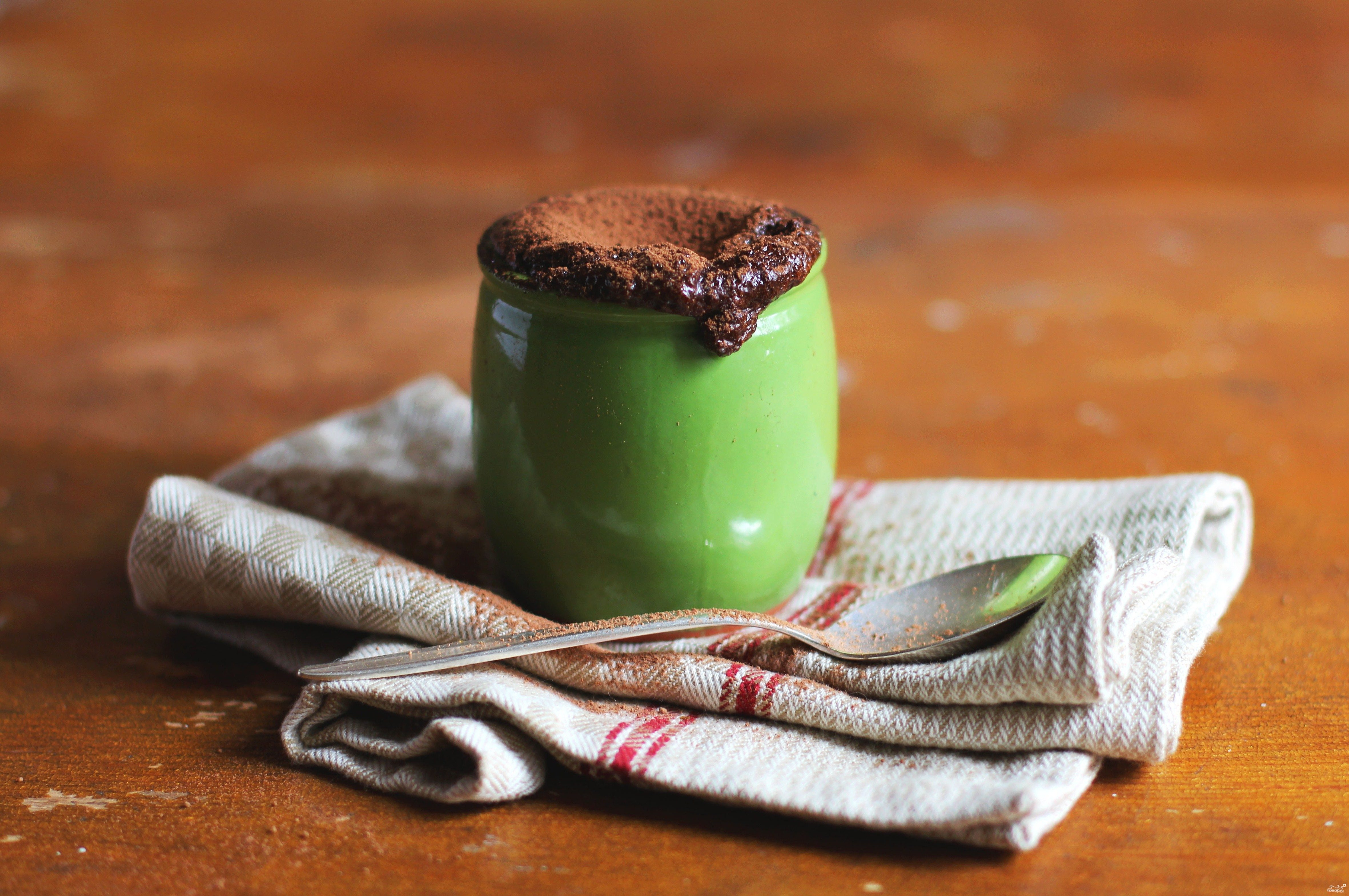 Шоколадное суфле с какао
