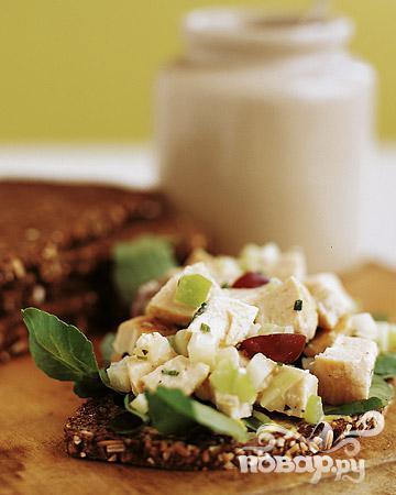 Рецепт Полезный куриный салат