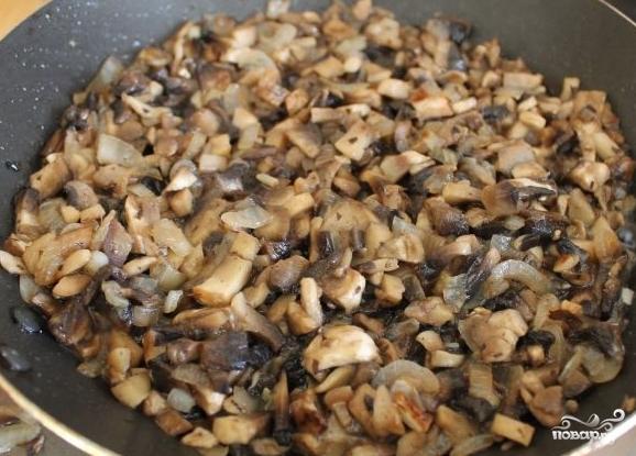 Куриные рулетики с грибами и сыром - фото шаг 4