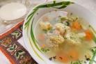 Вегетарианский суп из цветной капусты