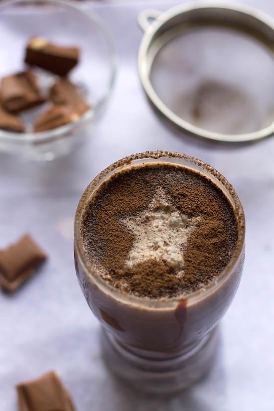 Кефир с какао - фото шаг 4