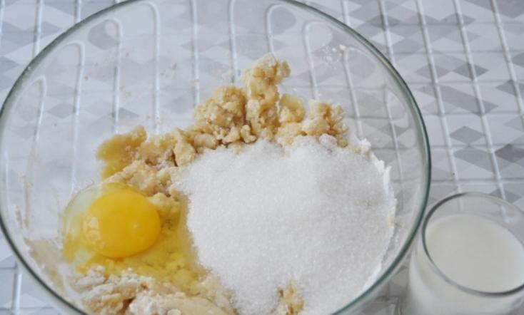 Быстрое песочное печенье - фото шаг 3