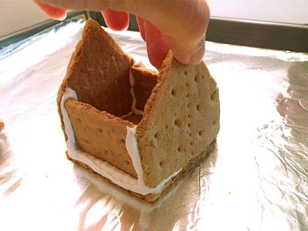 """Торт без выпечки """"Домик"""" - фото шаг 6"""