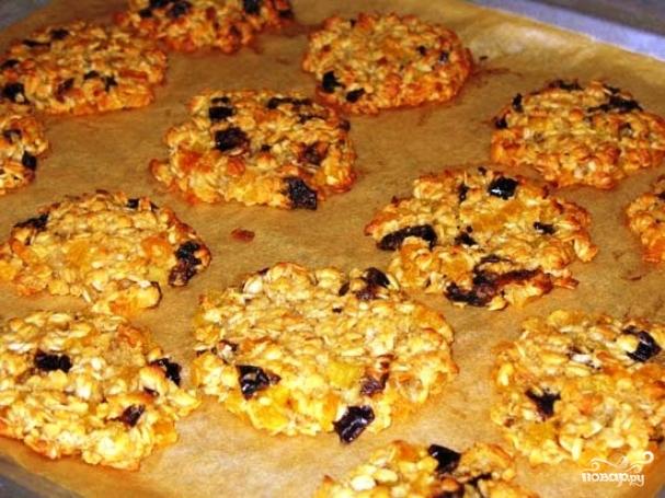 Овсяные печенья рецепт без муки
