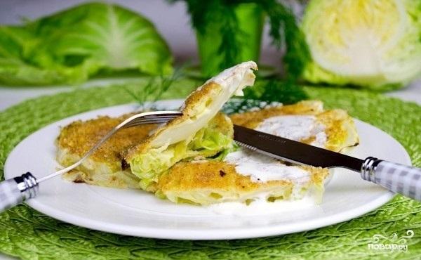 Рецепт Биточки из капусты