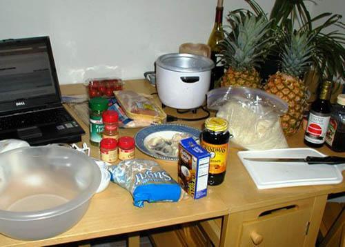 Полинезийский шашлык - фото шаг 1