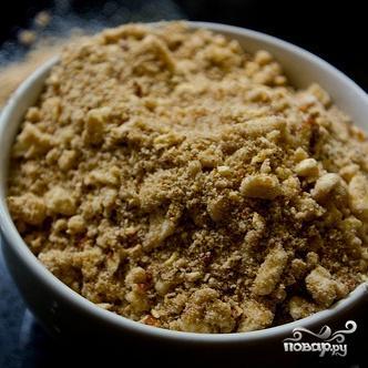 Пирог с корицей и ореховой посыпкой - фото шаг 2