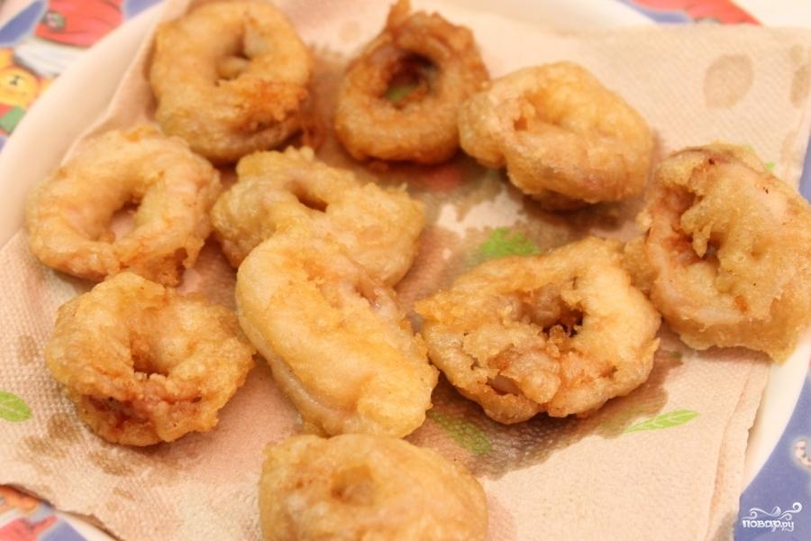 Бутерброды с кальмарами - фото шаг 2