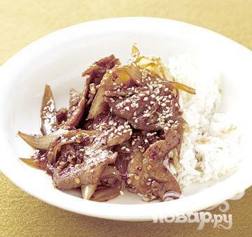 Рецепт Бульгоги из свинины