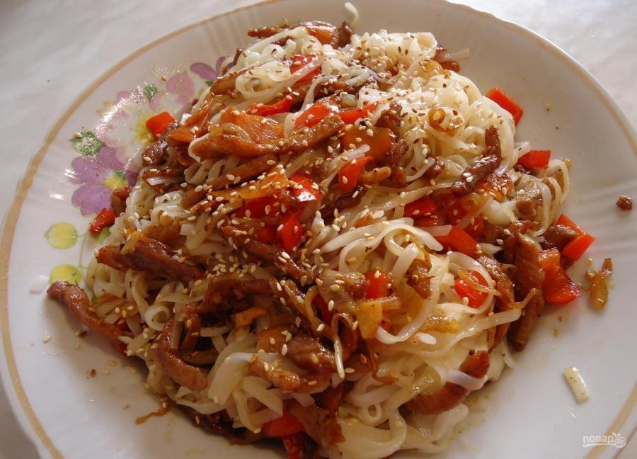 Овощи под соусом терияки рецепт