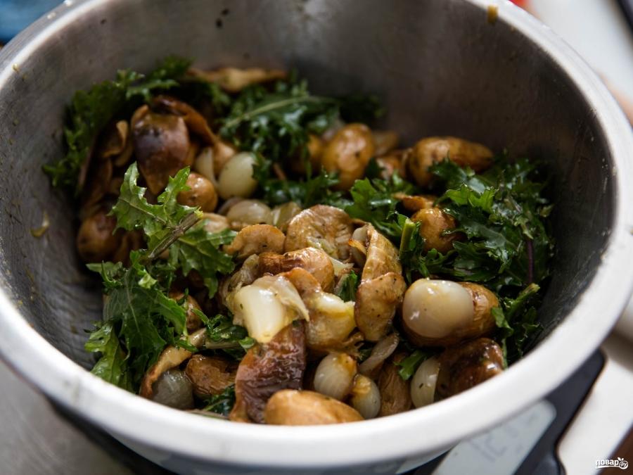 Грибной салат классический - фото шаг 2