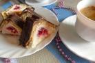Десерт из печенья и творога