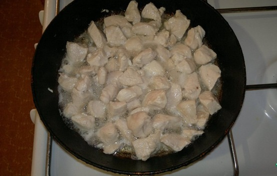 Филе курицы с грибами - фото шаг 3