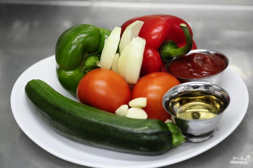 Рецепт Салат из тушеных овощей