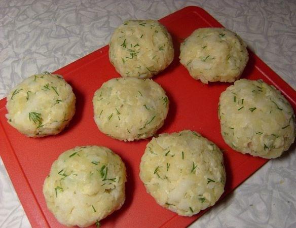 Картофельные зразы с курицей - фото шаг 4