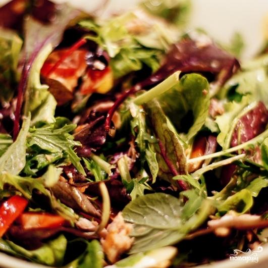 салат из тунца классический рецепт пошаговый