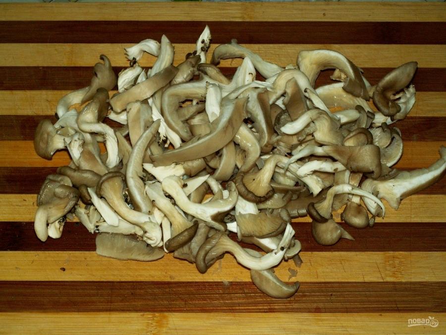 Как приготовить салат с грибов вешенки фото