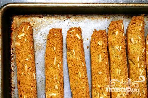 Миндальное печенье с цедрой