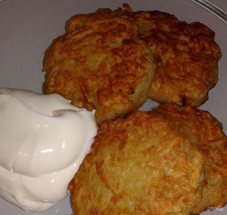 Белорусские драники картофельные
